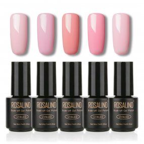 Gel Nail Polish  5 PACK,7ml(Pink)