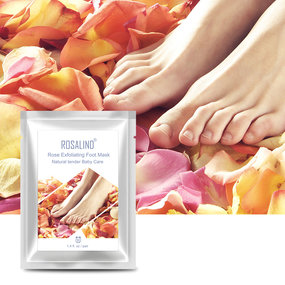 2 Pieces Rose Exfoliating Foot Mask(Natural Tender Baby Care)