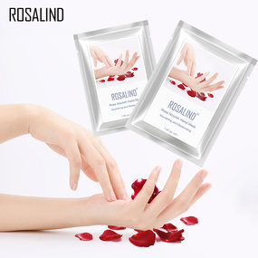 2 Pieces Rose Nourish Hand Mask(Nourishing And Moisturizing)