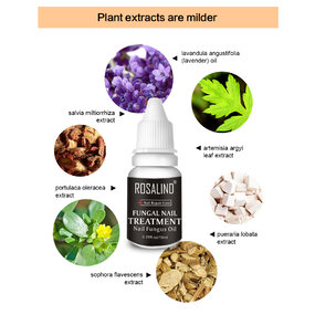 ROSALIND Nail Fungus Oil Repair To Nails Polish (Nutrient Solution For Increasing Nail Gloss)