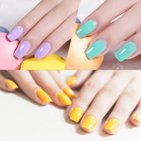 10ml Gel Nail polish UV Colors Classic Color Nail Gel Acryl Hybrid Gel Varnishes Top Coat