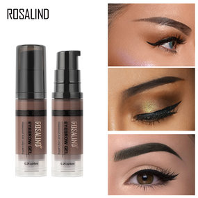 ROSALIND Eyebrow Pencil Gel for Eyebrow Kit Brow Gel Transparent Waterproof Professional Makeup Cosmetics For Eyebrow Shades