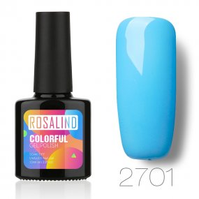 Rosalind 10ml Blue Color Nail Gel
