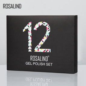 (12PCS/LOT)Series Color Gel Nail Polish Gift Box 7ml