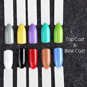 (12PCS/LOT)  Solid Color Nail Gel Polish Gift Box 7ml