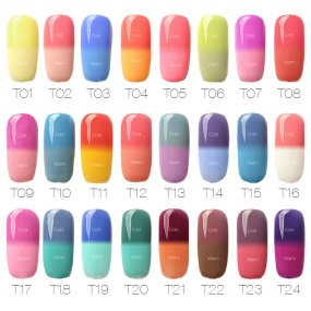 Temperature Color Changing Nail Gel