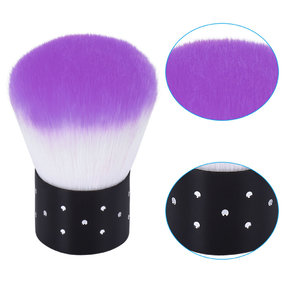 ROSALIND 1pcs Hot Cleaning Nail Brush Tools File Nail Art Care Manicure Pedicure Soft Remove Dust Small Angle Clean