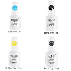 ROSALIND 7ML & 10ML & 15ML Top And Base Coat Primer Gel Varnish  Soak Off