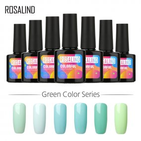ROSALIND 10ml Mint Green Color Nail Gel