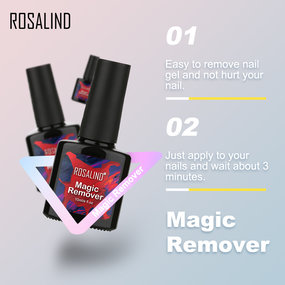 ROSALIND 10ml Magic Remover Nail Gel Remover
