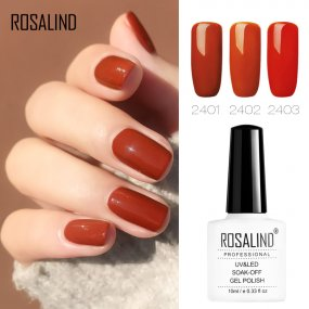 ROSALIND 10ml Autumn Theme Nail Orange Pumpkin Colour for Halloween