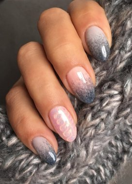 ROSALIND 7ml Long Lasting Faux Fur Effect Nail Gel Soak Off