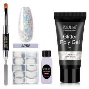 Rosalind 30ML Glitter Sequins Poly Gel