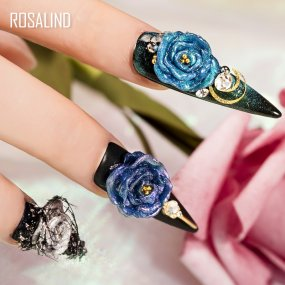 Rosalind 5ML (6PCS/LOT) Glitter Carving Gel Kit