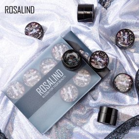 Rosalind 5ML Shiny Silk Gel Kit(12PCS/LOT)