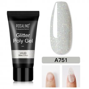 Rosalind 30ML Glitter Shinny Poly Gel
