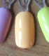 Classic Summer Color Pure Color Nail Gel 58 Options Yellow Orange Mint Lavender Orangr Nude Black White 7ML