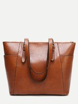 Buckle Large Tote Bag
