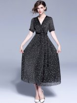 Black Long Evening Gown Dress