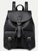 Pockets Front Flap Backpack