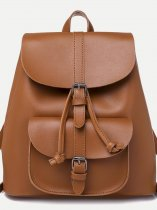 Pocket Front Flap Backpack