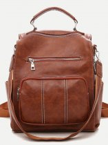 Front Pocket Convertible Backpack