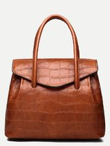 Croc Pattern Tote Bag