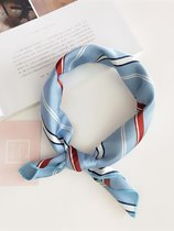 Color Block Striped Bandana