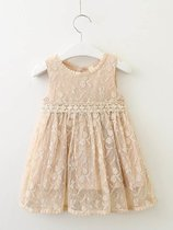 Toddler Girls Lace Sleeveless Dress