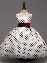 Toddler Girls Polka Dot Sleeveless Dress