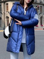 Hooded Long Down Puffer Coat
