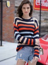 Striped Rainbow Jumper Sweater
