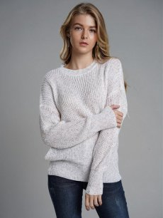Womens Knit Sweater Jumper Backless Solid Color Pullover