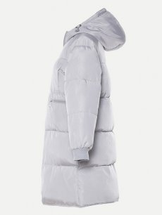 Oversized Hooded Puffer Coat Jacket