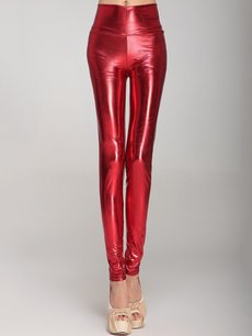 Sexy Solid Color High Waist Leggings