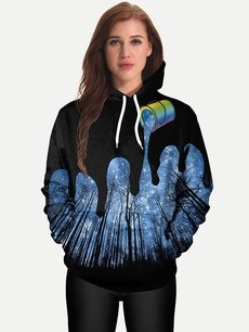 Unisex 3D Forests Hoodies Hooded Sweatshirts