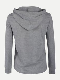 Solid Plain Hoodies Zipper Hooded Sweatshirt