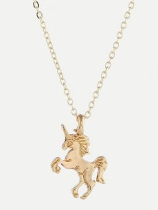 Unicorn Gold Chain Necklace