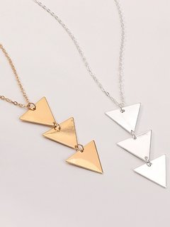 Arrow Shaped Chain Necklace