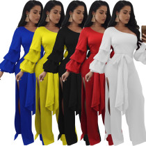 Sexy Womens Jumpsuit Solid Bodycon Playsuit Clubwear Party Long Trousers Suit
