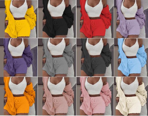 HD20206#(shorts + vest + coat)