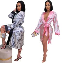 real silk night-robe