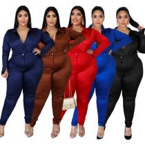 (L-5XL)PP052——bodysuit+pants