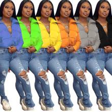 New Women Stand Collar Long Sleeve Zipper Pockets Solid Winter Warm Down Coat