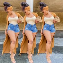 Plus Size Women Fashion Casual Hot Pants Shorts Denim Short Pants Jeans