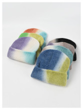 (ebay price:$12.2)Women's Mens Gradient Consise Fall Winter Warm Wollen Hat