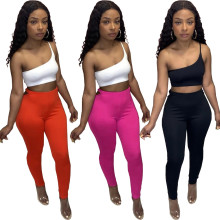 (ebay price:$18.41)Women Fashion Sexy Solid Color Hollow Out Long Pencil Pants