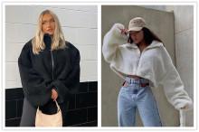 (ebay price:$33.11)S-L Women Fashion Stand Collar Long Sleeve Solid Zipper Warm Coat Outwear