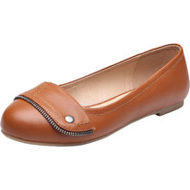 Luoika Women's Wide Width Flat Shoes - Comfortable Slip On Round Toe Ballet Flats.