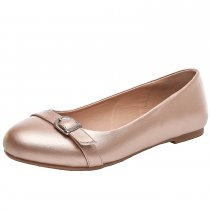 Luoika Women's Wide Width Flat Shoes - Comfortable Slip On Round Toe Ballet Flats